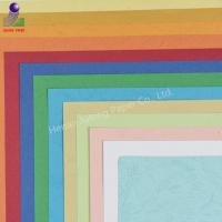 Buy cheap Wholesale A4 size 210g leather grain binding cover craft embossed paper from wholesalers