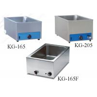 Buy cheap Kitchen Food Preparation Equipments Stainless Steel Electric Bain Marie For Food Warm from wholesalers