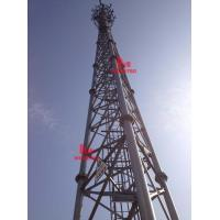 Buy cheap Free standing steel lattice tower from wholesalers