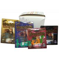 Buy cheap Herbal Miraclezen Sex Drug Natural Male Enhancement Supplements With 24 Capsules / Box from wholesalers