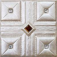 Buy cheap PVC leather Wall Panel for interior wall decoration from wholesalers