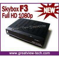 Buy cheap 2012 Skybox F3 HD Receiver 1080p from wholesalers