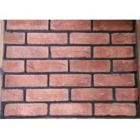 Buy cheap Red Classical Cement Faux Exterior Brick For Hotel / Railway Station from wholesalers