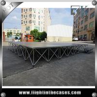 Buy cheap cheap smart stage mobile stage portable staging with stairs from wholesalers