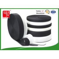 Grade A Heavy duty fabric hook and loop fasteners 100% nylon black and white