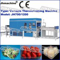 Buy cheap Hot Sale Automatic PE Plastic sheet Vacuum Thermoforming Machine For Fruit Trays from wholesalers