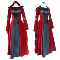Buy cheap Medieval Dress Wholesale XXS to XXXL Red Gothic Renaissance Medieval Victorian Evening Dress Costume Cosplay from wholesalers