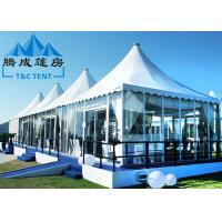 Buy cheap Luxury Pagoda Canopy Tent Choosable Tent Shape For Wedding Ceremony And Catering Events from wholesalers
