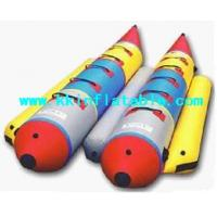 Buy cheap Customize Small PVC Inflatable Boat , Kids Inflatable Water Banana Boat from wholesalers