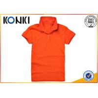 Buy cheap Summer Company Custom Polo Shirt , Embroidered Polo Shirts For Men from wholesalers