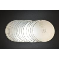 "6""inch -20""inch Ultra Thin Sintered Diamond Lapidary Notched Rim Saw Blades With Single Directional Blades"