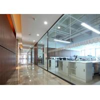 Buy cheap Office Demountable Glass Partitions , Glass Partition Walls Heavy Duty from wholesalers