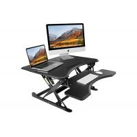 Buy cheap Mdf Density Board Height Adjustable Standing Desk , Home Stand Up Computer Desk from wholesalers