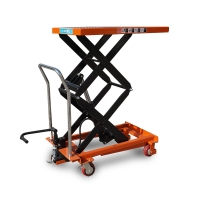 Buy cheap 500kg 0.88m Pallet Mechanical Foot Pump Hydraulic Scissor Lift Table from wholesalers