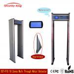 Buy cheap Adjusted Sensitivity XST - F18 Walk Through Metal Detector Rental LCD Screen from wholesalers