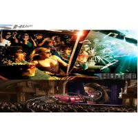 Buy cheap 6D Cinema Movie Theater With 3D Glasses, Rain, Wind, Lightning Special Effect System product