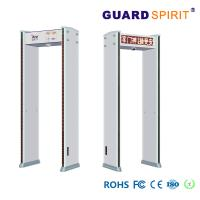 Buy cheap Led Visual Audible Alarm Airport Security Machines , Arch Metal Detector Camera Pictures Record from wholesalers