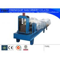 Buy cheap Hydraulic Cutting Type Eave Gutter Roll Forming Machine Use 0.5-0.8mm Thickness Color Steel from wholesalers