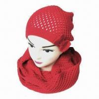 Buy cheap Infant Knitted Beanie Hat, Available in Various Colors and Sizes from wholesalers