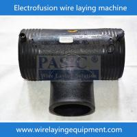Buy cheap China CNC PASIC Advanced Electro fusion Fittings Wire Laying Machine PE80,PE100 Pipe Fittings Connection from wholesalers