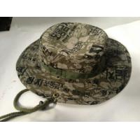 Buy cheap Mens Womens military jungle bucket hiking hat Boonie Hat from wholesalers