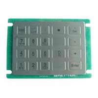 Buy cheap IP65 dynamic rated vandal proof Vending Machine Keypad with short stroke with 20 keys from wholesalers