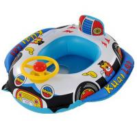 Buy cheap Wholesale Fashion Inflatable Cute Lovely New Car Boat With Steering Wheel For Babies from wholesalers