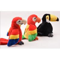 Buy cheap Educational Interactive Talking Plush Toys Musical Parrot For Festival from wholesalers