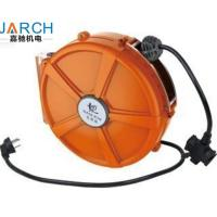 Buy cheap Spring - Loaded Retractable Hose Reel PU Mesh Hose Material For Electrical Return from wholesalers