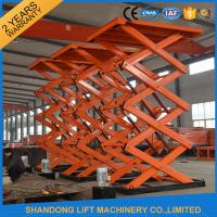 Buy cheap Material Handling Warehouse Elevator Lift , Hydraulic Upright Scissor Lift Workbench from wholesalers