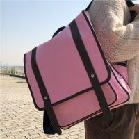 Buy cheap Fashion Pink Panvas Backpacks For School Environmental Friendly product