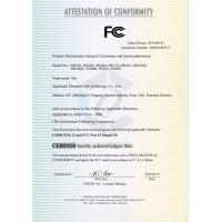 3nh color meter FCC certification