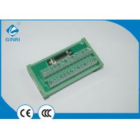 Buy cheap Din Rail Terminal Block PLC Output Interface Breakout Module IDC MDR Connector Module from wholesalers