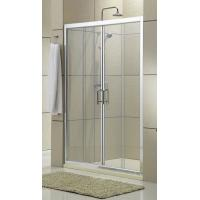 Buy cheap Clear Glass Shower Stall Sliding Glass Doors 1600x1900MM Screen CSI Certification from wholesalers