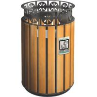 Buy cheap KQ60280K 32 Gallon 13 Gallon Trash Can Stainless Steel For Public , CE Certification from wholesalers