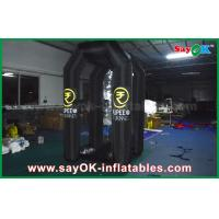 Buy cheap Black Oxford Custom Inflatable Products Inflatable Money Booth For Promotion , 1.5mLX2mWX 2.5mL from wholesalers