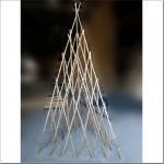 Buy cheap Garden bamboo trellis-pyramid shape from wholesalers
