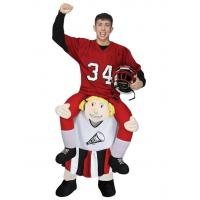Buy cheap Adult Ride a Cheerleader Costume Carry Me Mascot Fancy Dress for Party from wholesalers