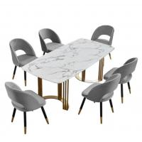 Buy cheap Square Corrosion Resistant Hotel Dining Table from wholesalers