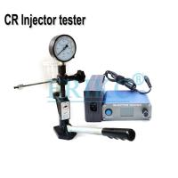 Buy cheap ERIKC common rail injector nozzle tester equipment diesel injector testing machine from wholesalers