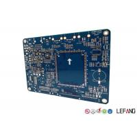 Buy cheap Circuit Board Industrial PCB 6 Layers Blue Solder Mask For Semiconductor Laser product