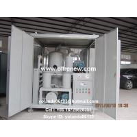 Buy cheap High Vacuum Transformer Oil Purification Plant | Dielectric Oil Filtration System ZYD-100 from wholesalers