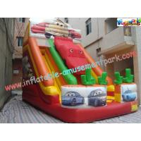 Buy cheap OEM Inflatable Big Commercial Inflatable Slip and Slide Combo Rental for  family fun product