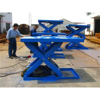 Buy cheap CE stationary truck mounted scissor lift motorized projector / cargo lift from wholesalers