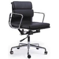 Buy cheap White Black Eames Swivel Leather Chair (FL-E04B#) from wholesalers