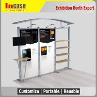 Buy cheap 3x3 Customized trade show exhibition booth shell scheme booth stand from wholesalers