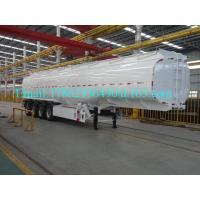 Buy cheap 33 Cbm Heavy Duty Semi Trailers Oil Tank Trailer Stainless Steel 304 Material from wholesalers