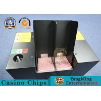 Buy cheap Automatic Black Color Metal Casino Playing Cards Shredder Poker Cards Discarded License Machine from wholesalers