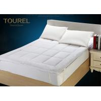 Buy cheap Waterproof Fitted Quilted Hotel Mattress Protector 100% CottonPad / Topper from wholesalers