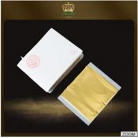 Buy cheap Hot sales Factory wholesale Taiwan  imitation gold leaf foil 14*14 CM for furniture decoration from wholesalers